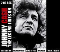 Cover Johnny Cash - The Legend Lives On [2 CD Box]